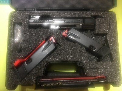 Pistola CZ 85 COMBAT 9mm + KIT DEL 22LR