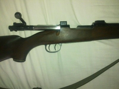 rifle mauser de cerrojo doble gatillo